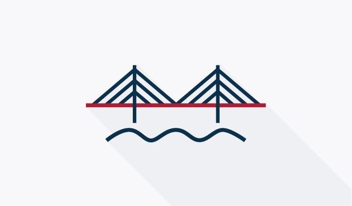 Abbildung der Öresund-Brücke